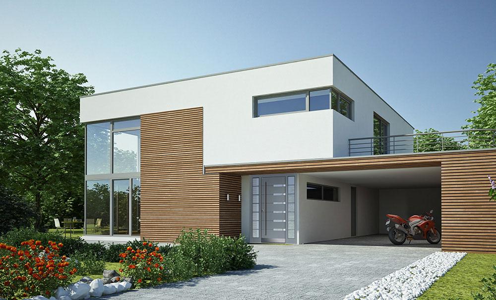 Nowoczesny design, Drzwi drewniane – zewnętrzne i wewnętrzne Parmax